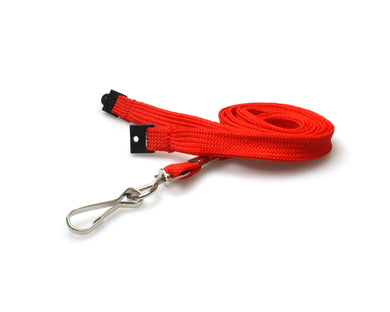 10mm Tubular Lanyard with Metal Spring-Clip