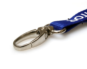"15mm ""VISITOR"" Lanyards with Metal Lobster Clip"