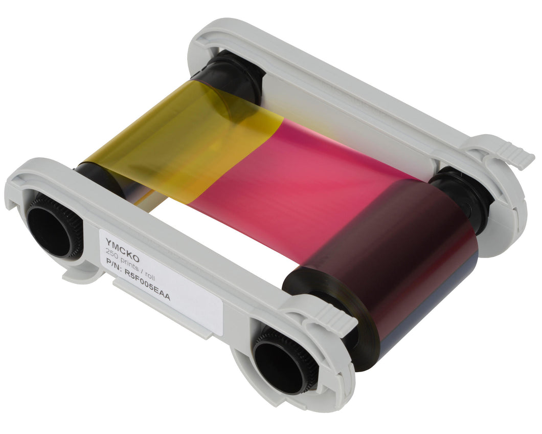 Evolis Primacy YMCKO 5 Panel Colour Ribbon 300 Image R5F008EAA