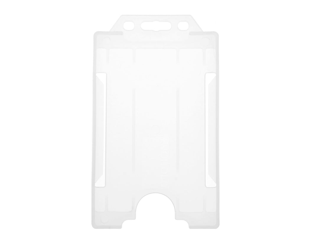 OPEN FACED RIGID CARD HOLDER-PORTRAIT