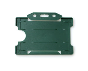 OPEN FACED RIGID CARD HOLDER-LANDSCAPE