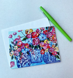"""A Fruitful Endeavor"" Set of 10 Note Cards 5.5x4 and envelopes"