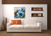"Load image into Gallery viewer, ""Happy Feet"" - 24x24 Original on Canvas"