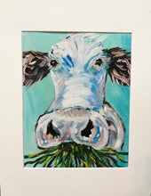 "Load image into Gallery viewer, ""Grass Fed Beef"" 8x10 Matted to 11x14 Art Print"