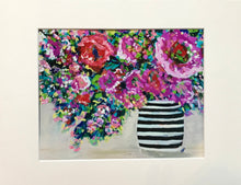 "Load image into Gallery viewer, ""Boom Blooms"" - 8x10 Matted to 11x14 Art Print"