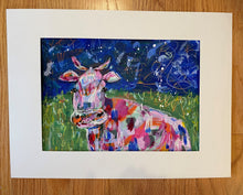 "Load image into Gallery viewer, ""Prince of the pasture""- 9x12 Original on Paper"