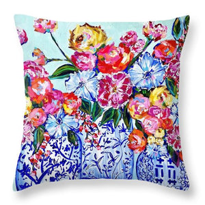 A Fruitful Endeavor - Throw Pillow
