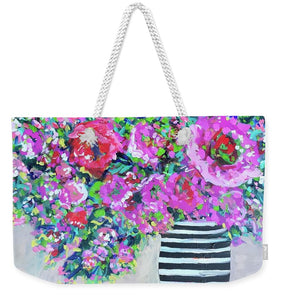 A Peony for Your Thoughts - Weekender Tote Bag