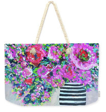 Load image into Gallery viewer, A Peony for Your Thoughts - Weekender Tote Bag