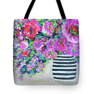 A Peony for Your Thoughts - Tote Bag