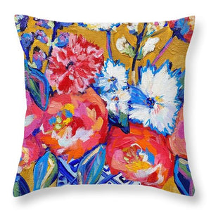 Not too bud - Throw Pillow