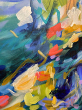 "Load image into Gallery viewer, ""The bold and the bluetiful"" - 20x16 Original on Canvas"