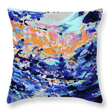Load image into Gallery viewer, Caribbean Sea - Throw Pillow
