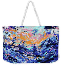 Load image into Gallery viewer, Caribbean Sea - Weekender Tote Bag