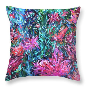 Bouquets for Days - Throw Pillow