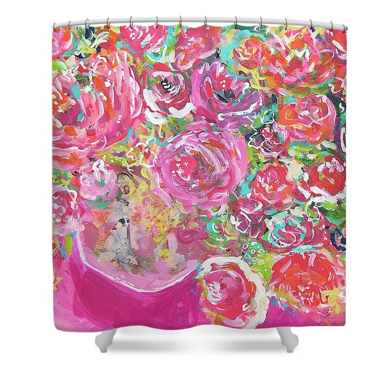 Fruit of the Bloom - Shower Curtain