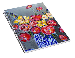 Flowers for Floyd - Spiral Notebook
