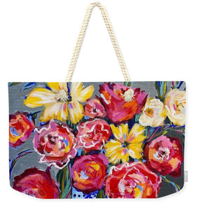 Flowers for Floyd - Weekender Tote Bag