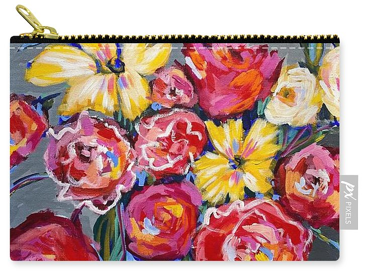 Flowers for Floyd - Carry-All Pouch