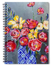 Load image into Gallery viewer, Flowers for Floyd - Spiral Notebook