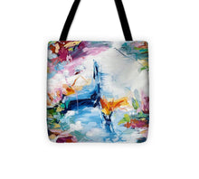 Load image into Gallery viewer, Meditating during quarantine - Tote Bag