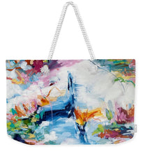 Load image into Gallery viewer, Meditating during quarantine - Weekender Tote Bag