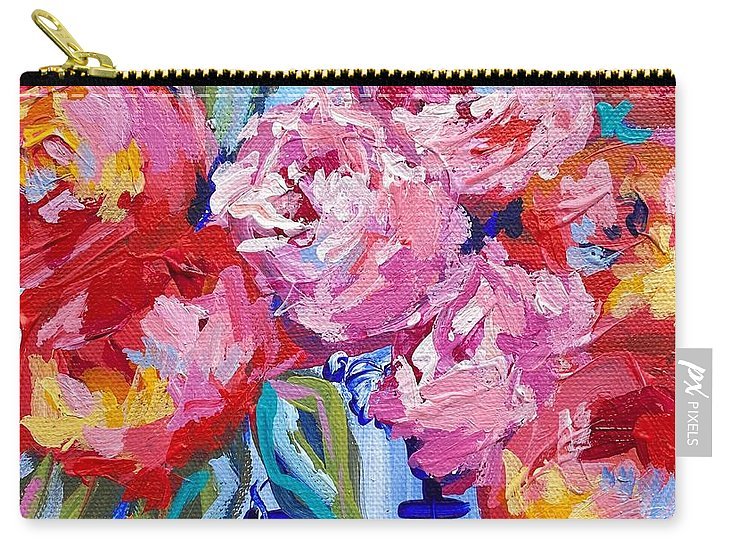 Romance in Bloom - Carry-All Pouch
