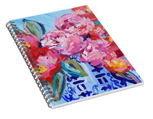 Load image into Gallery viewer, Romance in Bloom - Spiral Notebook