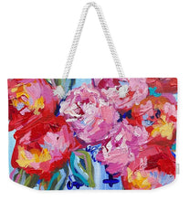Load image into Gallery viewer, Romance in Bloom - Weekender Tote Bag