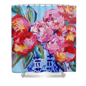 Romance in Bloom - Shower Curtain