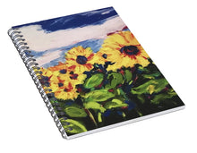 Load image into Gallery viewer, Flower Child - Spiral Notebook