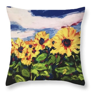 Flower Child - Throw Pillow