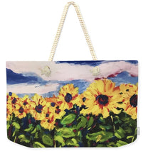 Load image into Gallery viewer, Flower Child - Weekender Tote Bag
