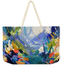 Load image into Gallery viewer, The Bold and the Bluetiful - Weekender Tote Bag