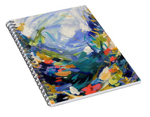Load image into Gallery viewer, The Bold and the Bluetiful - Spiral Notebook