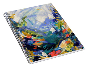 The Bold and the Bluetiful - Spiral Notebook
