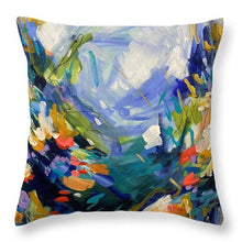 Load image into Gallery viewer, The Bold and the Bluetiful - Throw Pillow