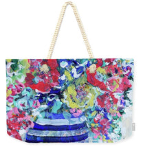Load image into Gallery viewer, The Flowers that Be - Weekender Tote Bag