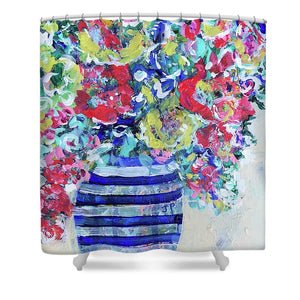 The Flowers that Be - Shower Curtain