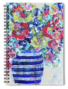 The Flowers that Be - Spiral Notebook