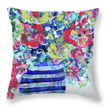 Load image into Gallery viewer, The Flowers that Be - Throw Pillow