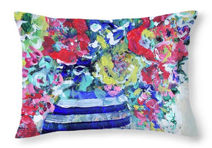 The Flowers that Be - Throw Pillow