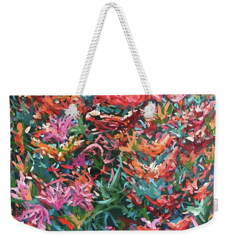 The Flowers that Be - Weekender Tote Bag