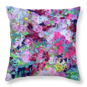 To Bloom it May Concern - Throw Pillow