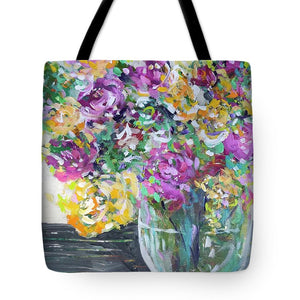 What in Carnation - Tote Bag