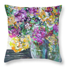 Load image into Gallery viewer, What in Carnation - Throw Pillow
