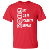 Eat, Sleep, Fortnite Shirt