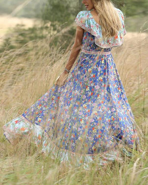 Fashion Summer Vacation Dress Maxi Dresses