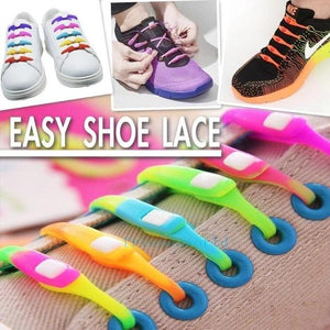 LAZY SHOE LACE (12PCS)---Works in all shoes