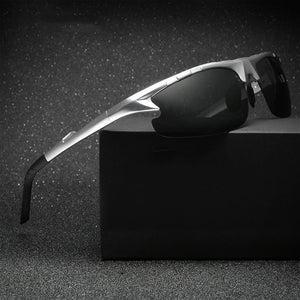 Aluminum Polarized Fashion Vintage Pilot Sun Glasses